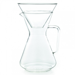 Glass Coffee Carafe with Funnel, 1,2 l